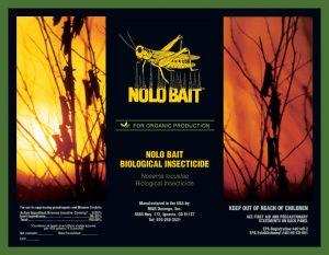 Nolo Bait™ Nolobait Grasshoppers Lubbers Insecticide Organic Natural