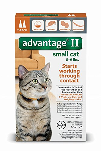 Advantage Ii Large Cat 5 9 Lb Single Dose Shell S Feed
