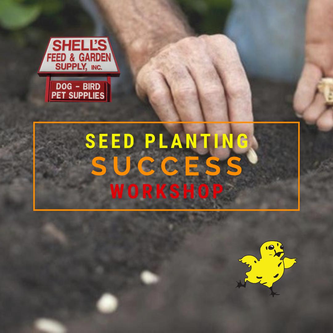 Seed Planting Success Workshop