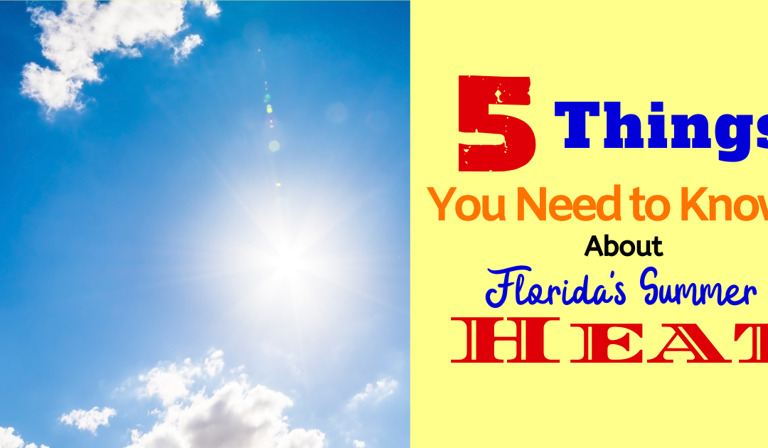 5 Things You Need to Handle Florida's Summer Heat