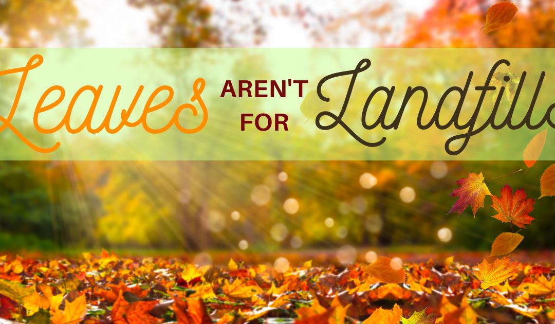 Leaves Aren't For Landfills