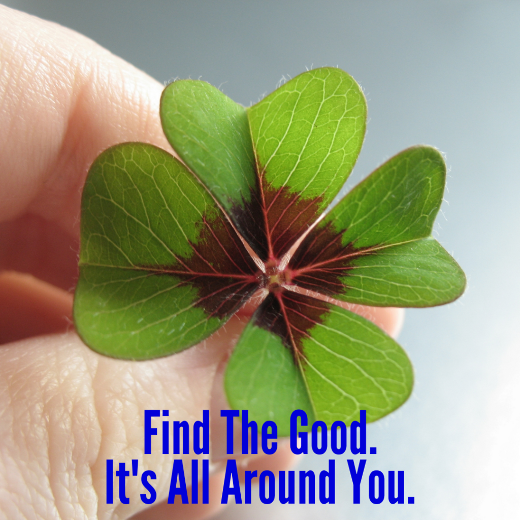 Find The Good. It's All Around You.