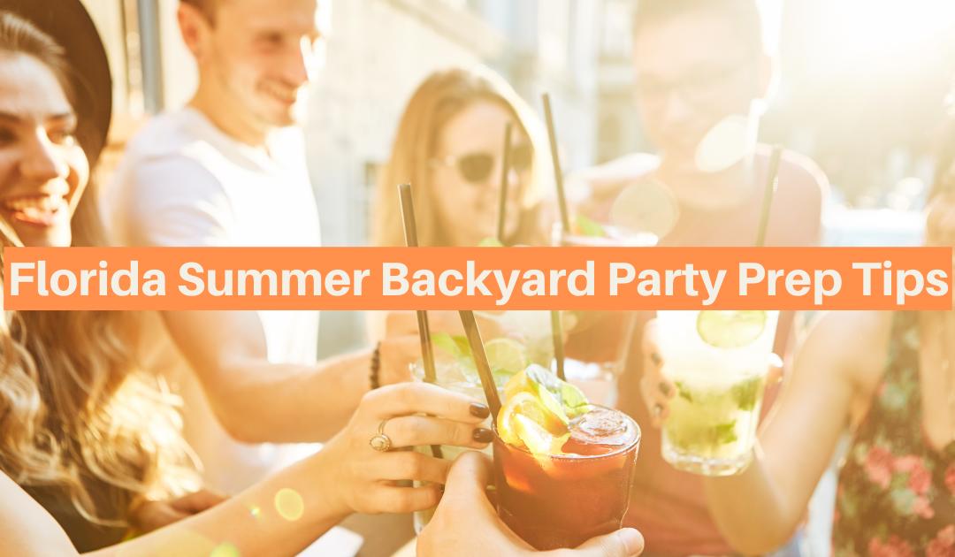 Easy Summer Backyard Party Prep